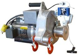 Portable Ac Electric Pulling / Lifting Winch - Pct1800-50hz-p