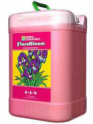 General Hydroponics Flora Bloom 6 Gallon 6G - flower booster enhancer nutrients