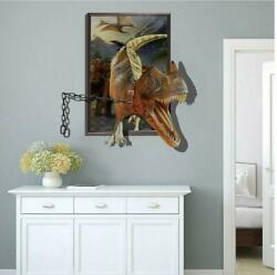 NEW 3D dinosaur Removable Wall Stickers Decal Kids bed play room Home Decor USA