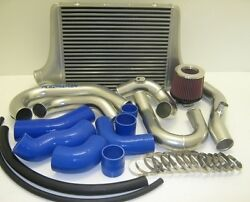 Ba/ Bf Xr6 Street Pro Bar And Plate Intercooler Kit With Cai - 500x400x90 - Raw