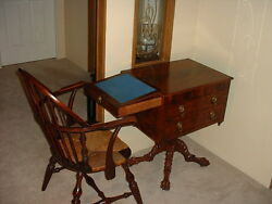 Mahogany Federal Classical Hairy Paw Worktable New York Michael Allison 1815