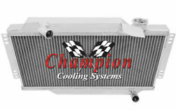 Champion Cooling 2 Row All Aluminum Replacement Radiator Ec6480 Triumph Spitfire