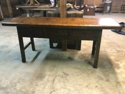 Butcher Sofa Table Reclaimed Wood Console Table