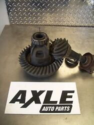 Dodge,chrysler,jeep 3.55 8 1/4 10 Bolt Ring And Pinion With Open Carrier W/o Abs