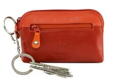 Visconti RB62 Multi Color Ladies Soft Leather Coin Purse Key Wallet Chain Case $12.99