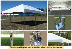 30x60 Master Series Frame Tent For Sale Outdoor Party Events