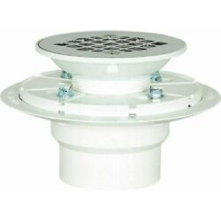 Pvc Pan Shower Drain Stainless Steel Strainer,no 821-2ppk, Sioux Chief Mfg Co.