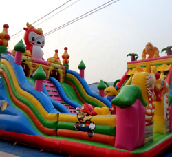 25x25 Commercial Inflatable Rodeo Bull Riding Thrilling Amusement We Finance