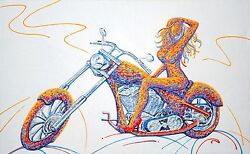Motorcycle Girl Price In Gallery 6800