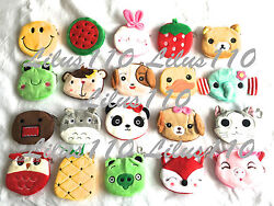 WOMEN GIRLS KIDS COIN PURSES ANIMAL ZIP WALLET - SUEDE material OVER 100 styles