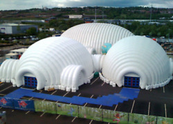 100000 sqft Bubble Globe Inflatable Tent Advertising Commercial Event Wedding