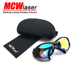 5x Co2 Laser Safty Protective Goggles Glasses 10600nm 10.6um Engraving Cutting
