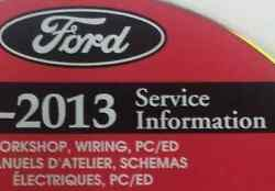 2013 FORD EXPLORER SUV TRUCK Service Shop Repair Information Manual CD NEW