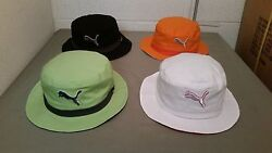 new puma the varial bucket hat.  4 colors to choose.  retail price  24.99
