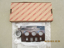 09 - 13 TOYOTA TUNDRA PLATINUM AC HEATER CLIMATE CONTROL FACE PLATE NEW 0C680