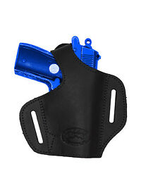 NEW Barsony Black Leather Pancake Gun Holster Kel-Tec Kahr Mini 22 25 380