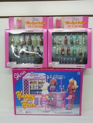 Gloria, Barbie Size Doll Furniture/ Happy Hour And Wine Cabinet Play Set