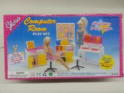 Gloriabarbie Size Doll House Furniture/21022 Computer Room