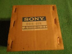 Sony D1 Upper Drum / Video Head Dvr 2000 And 2100 Ddr-03r Newsealed A-6050-865-b1