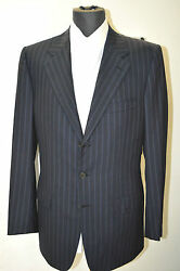 New Brioni Suit 100 Super 160 's Wool 38 Us 48 Eu Made In Italy Bro11