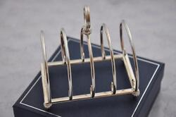 Sterling Silver Large Toast Rack 2016 Sheffield England