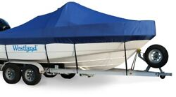 Westland Exact Fit Sunbrella Cobalt 200 Br W/extended Plat And Bimini Cover 03-07