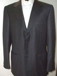 New Brioni Suit 100 Wool  41 Us 51 Eu Made In Italy Br21