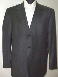 New Brioni Suit 100 Wool  44 Us 54 Eu Made In Italy Br15
