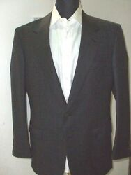 New Brioni Suit 100wool Size 40 Us 50 Eu Made In Italy Br10