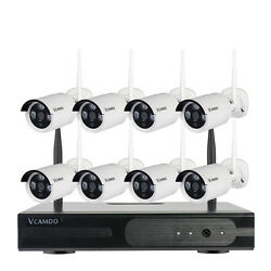 8ch Cctv Outdoor Night Home Wireless Security Camera System With Hard Drive