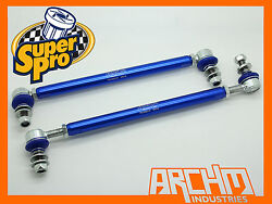 VW TIGUAN 5N 4MOTION AWD 092007-ON FRONT SUPERPRO ADJUSTABLE SWAY BAR LINK KIT