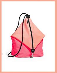 VICTORIA#x27;S SECRET SLING BAG PINK AND ORANGE FOR BEACH ESSENTIALS PRETTY COOL NEW $54.59