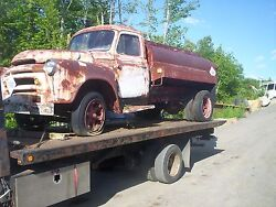 Ih S-160 Oil Truck Home Heating Kerosene Sign Advertise Can 1950and039s Patina Usa