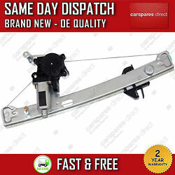 JAGUAR S TYPE CCX 2003>2007 REAR LEFT SIDE WINDOW REGULATOR WITH 2 PIN MOTOR
