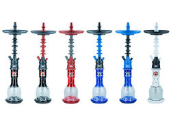 100 Authentic Starbuzz American Hookah Complete Package Challenger Short