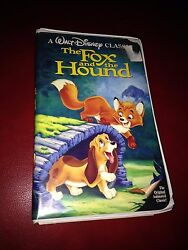 The Fox And The Hound Vhs Black Diamond Edition 1994