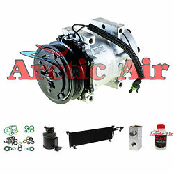57632 Auto AC Compressor Kit with Condenser Fits 1991-1993 Jeep Cherokee 4.0L