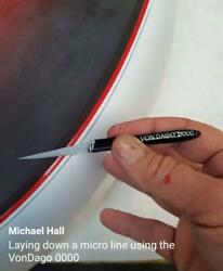 Pro-series Premium Pinstriping Brush 0000 4/0 - Now Available To The Public