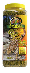 Zoo Med Natural Bearded Dragon Food Juvenile 20oz. **Free Shipping**