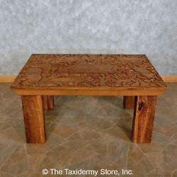 15698 P | Carved Wood Table For Sale