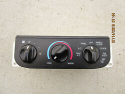 97 - 03 FORD F150 F-150 AC HEATER CLIMATE CONTROL TEMPERATURE CONTROL