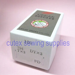 100 Titanium 7x3 794 Dyx3 Singer Class 7 Consew 744 Sewing Machine Needles