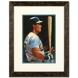 Daniel M. Smith-jose Canseco-framed Orig Painting/hand Signed/coa-list 10000