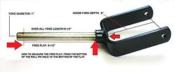 Land Pride Finish/grooming Mower Replacement Fork I.d Width 5fits Many Others