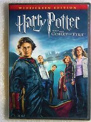New Gift Ready Harry Potter And Goblet Of Fire Dvd Widescreen Emma Watson Witch