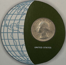 Coins Of All Nations 1979 Washington Quarter United States Coin And Stamp Set