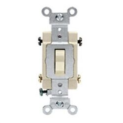 Grounded Quiet 4-way Switch,no S01-cs415-2is, Leviton Mfg Co, 3pk