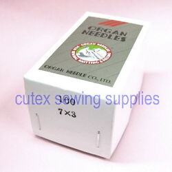 100 Organ 7x3 Dyx3 794 Sewing Machine Needles Singer Consew Highlead