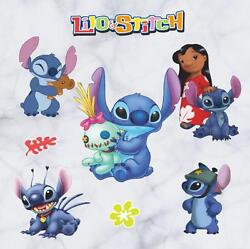 NEW Lilo amp; Stitch Removable Wall Stickers Decal Kids Home Decor US Seller