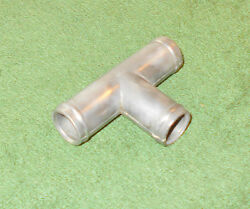 1966 1967 Ford Mustang Gt Fairlane Cougar Comet Orig Thermactor Hose T-connector